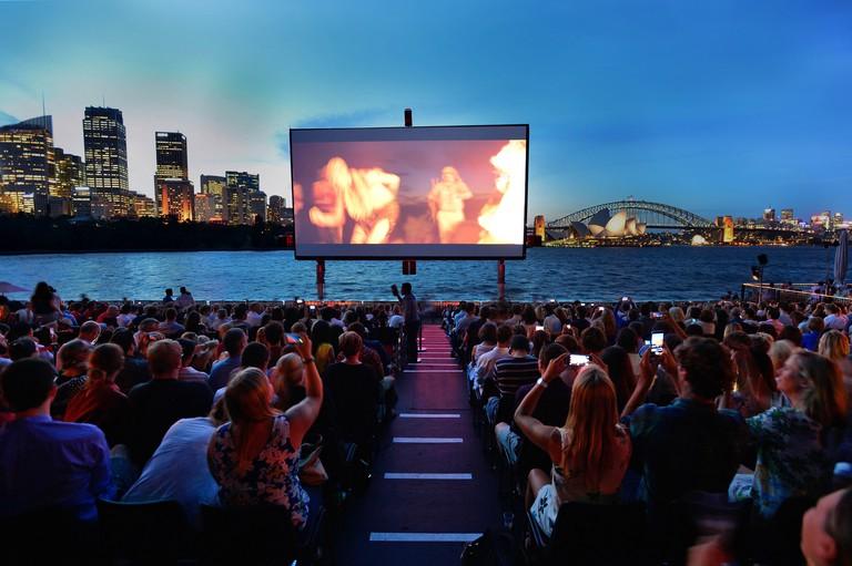 St. George  OpenAir Cinema 2015, Mrs Macquaries Road, Sydney 07.01.2015