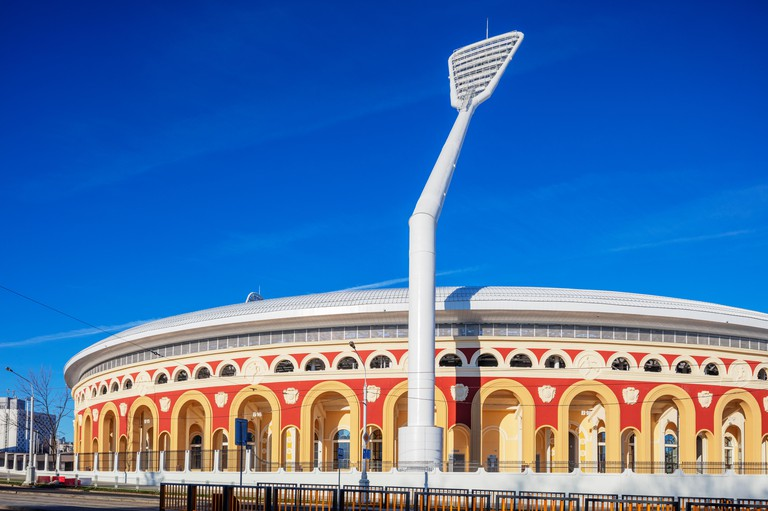 Europe, Belarus, Minsk, sporting venue for the 2nd European Games in 2019, National Olympic Stadium Dinamo