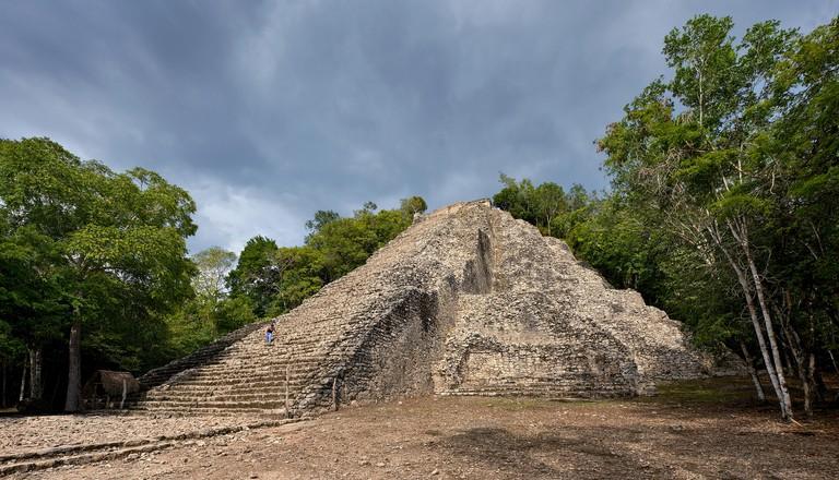 Nohoch Mul Pyramid, Mexico