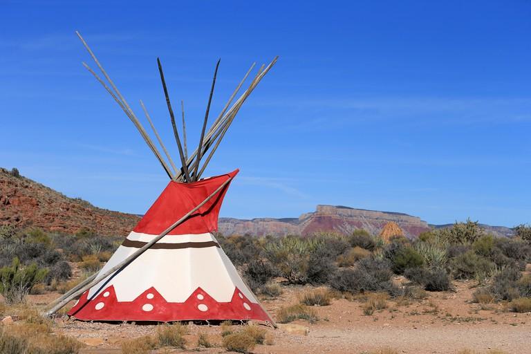 Tent, Grand Canyon National Park, Arizona, United States