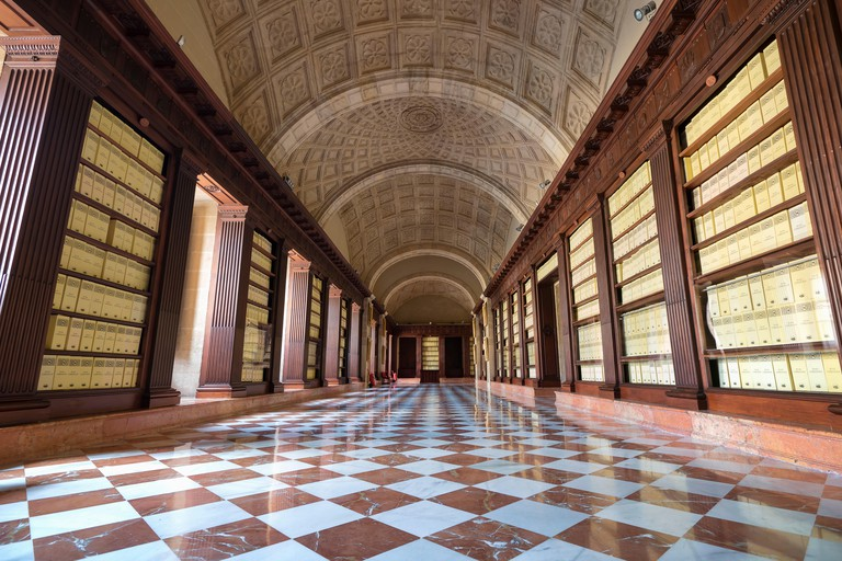Second Floor Gallery, Archive of the Indies, Seville