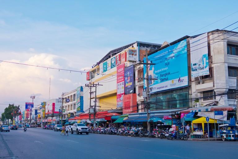 Maharaj Road, Krabi town, Thailand