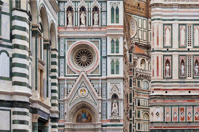 Detail of Santa Maria del Fiore in Florence