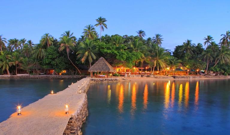 Toberua Island Resort, Toberua Island