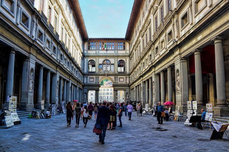 Florence, Uffizi. Image shot 03/2019. Exact date unknown.