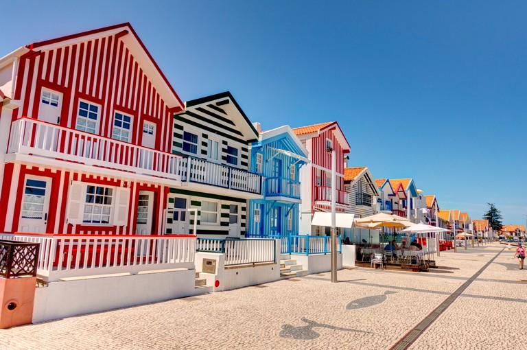 Aveiro, Costa Nova Beach, Portugal