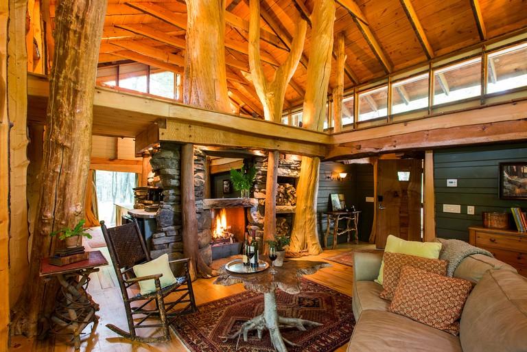 Winvian Farm Woodlands cottage