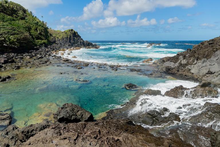 2A0PYJF Saint Vincent and the Grenadines, Owia salt pond