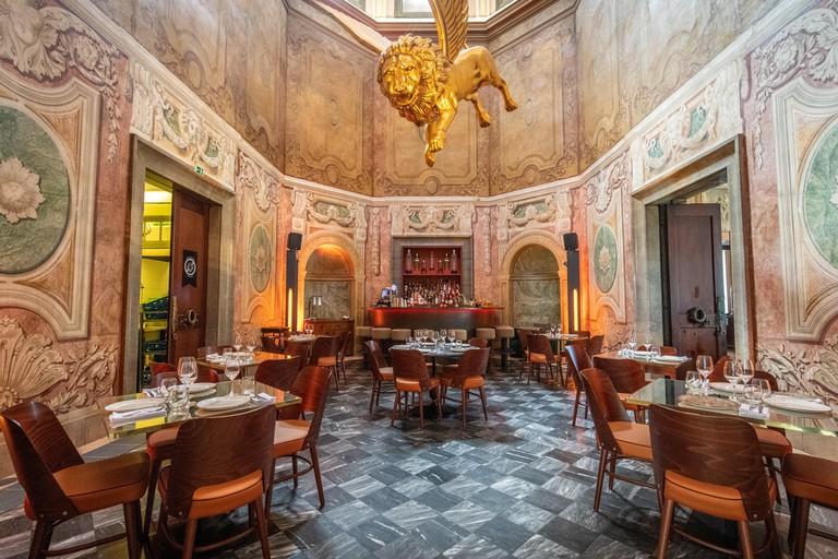 Upper Dining Area of Palacio Chiado , Lisbon, Portugal