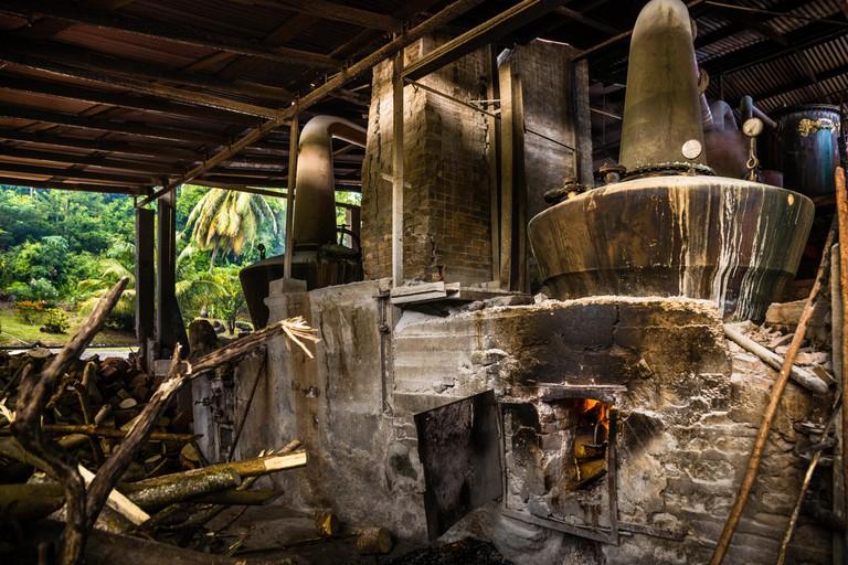 Antoine Rivers Rum Distillery, Saint Patrick, Grenada