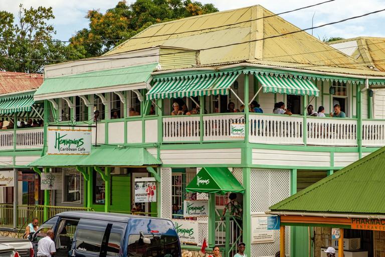 Hemingways Caribbean Cafe, St Marys Street, St Johns, Antigua