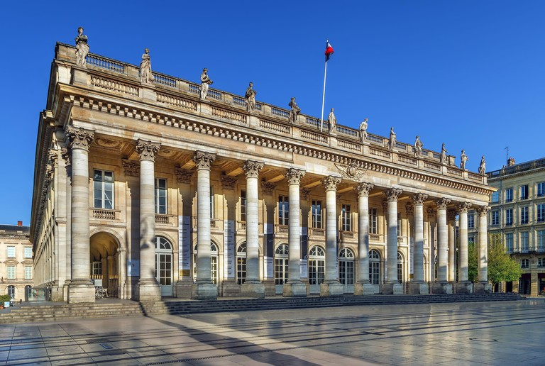 Bordeaux National Opera, France. Image shot 08/2019. Exact date unknown.
