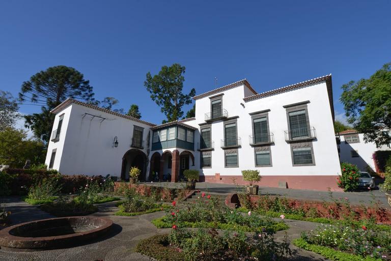 Museu da Quinta das Cruzes, Calcado de Pico, Oberstadt, Funchal, Madeira, Portugal