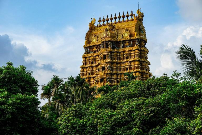 Nallur Kandaswamy Kovil Hindu temple in Jaffna, Sri Lanka.