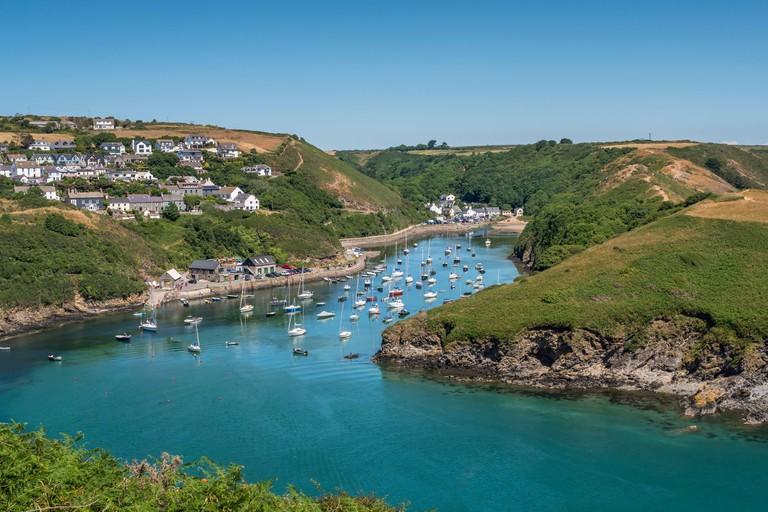 Solva Harbour, Solva, Haverfordwest, Pembrokeshire, Wales