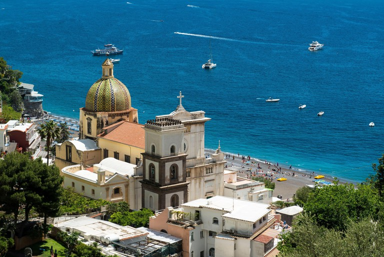 Church of Saint Mary of the Assumption (Church of Santa Maria Assunta), Positano, Amalfi Coast, Italy