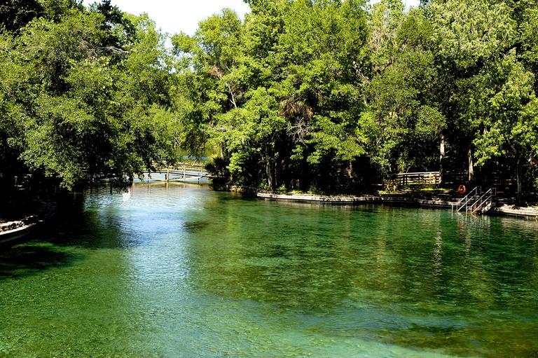 Florida orlando area wekiwa springs state park