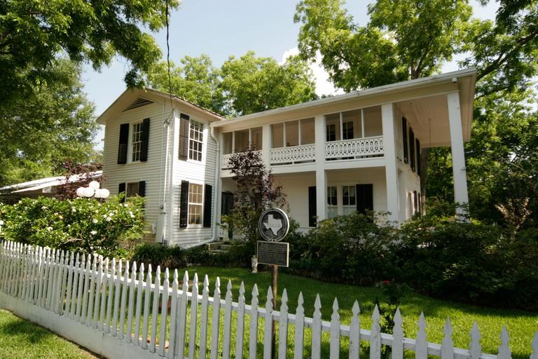 Montgomery Texas USA Homewood house historical residence