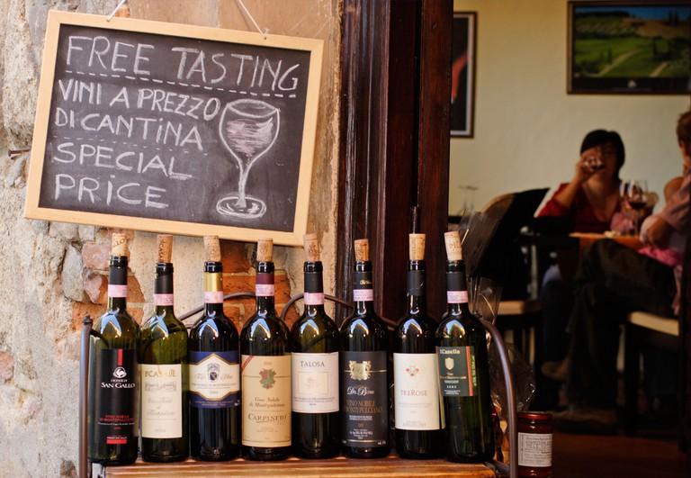 AR88NR Wine shop, Montepulciano, Tuscany, Italy