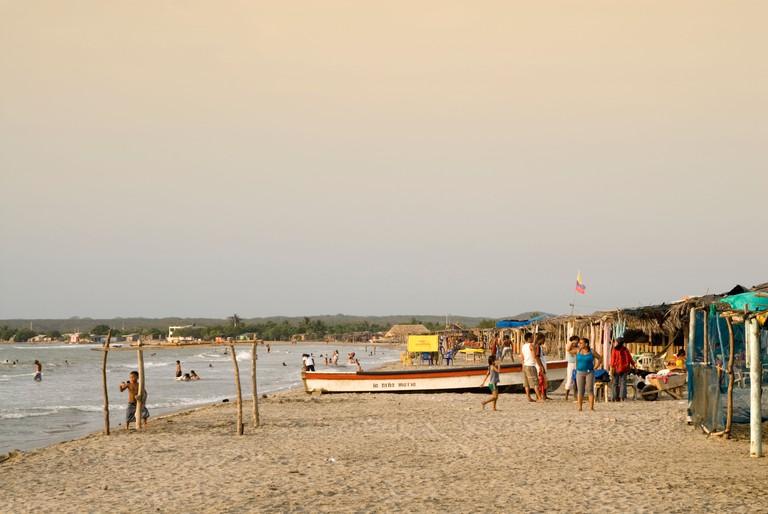 La Boquilla beach, Cartagena de Indias, Colombia