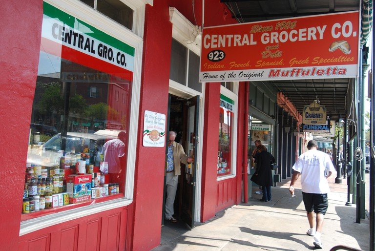 Central Grocery Co. in New Orleans, Lousiana, is the home of the original muffuletta sandwich.
