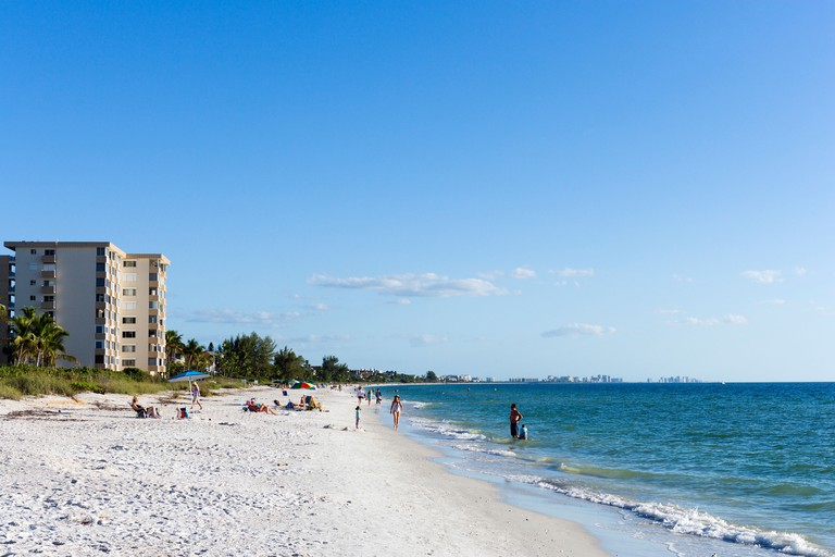 Barefoot Beach, Bonita Springs, Gulf Coast, Florida, USA