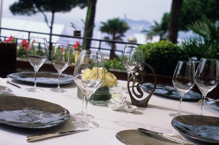 Restaurant La Palme d'Or, Gourmetrestaurant, Cannes, Cote d'Azur, Provence, France