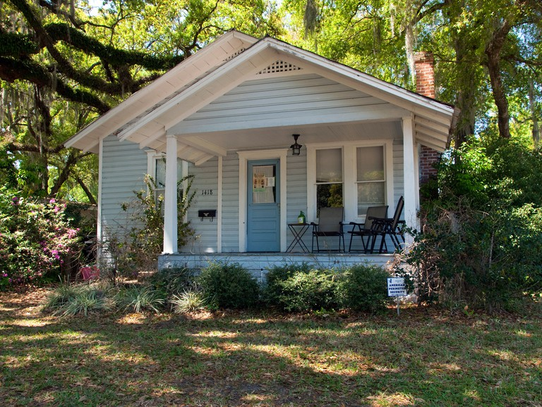 Jack Kerouac writers cottage in College Park Florida where he lived with his mother when On the Road was published.