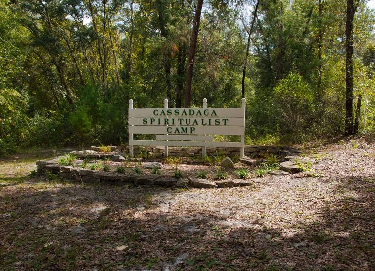 Cassadaga Spiritualist Camp in Central Florida USA