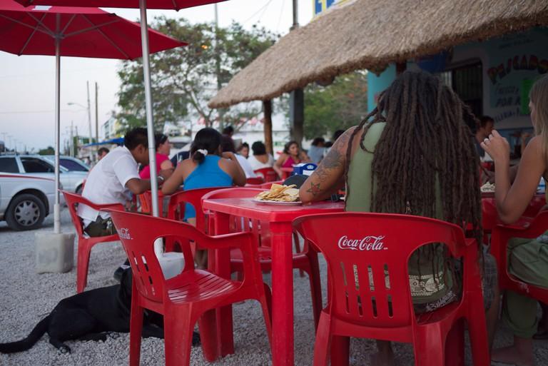 El Camello restaurant Tulum