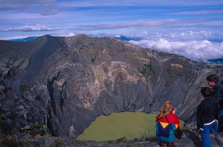 C87KF7 Volcano Irazu