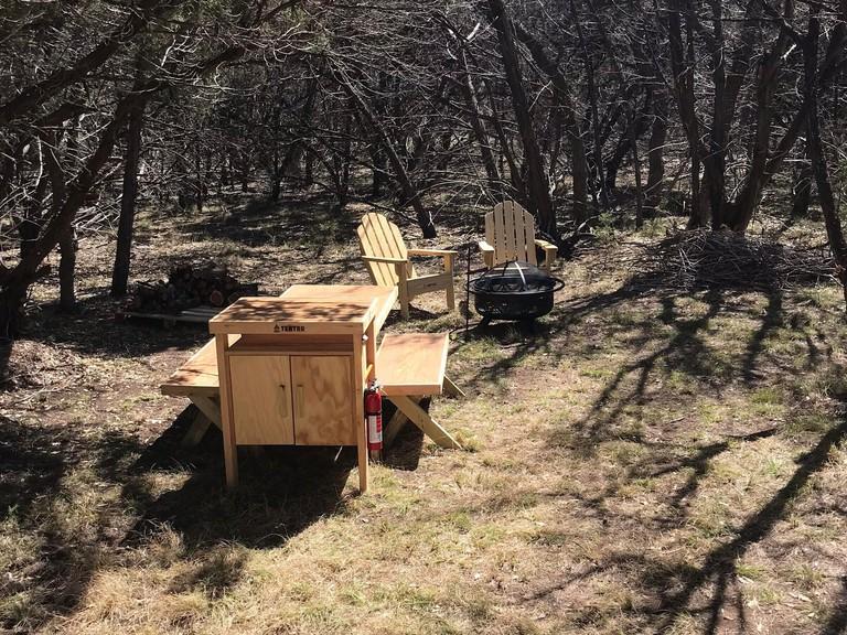 Camping at The Cedars Ranch
