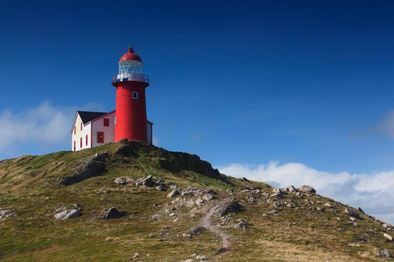 Photo of Ferryland Head Lighthouse, Newfoundland, Canada