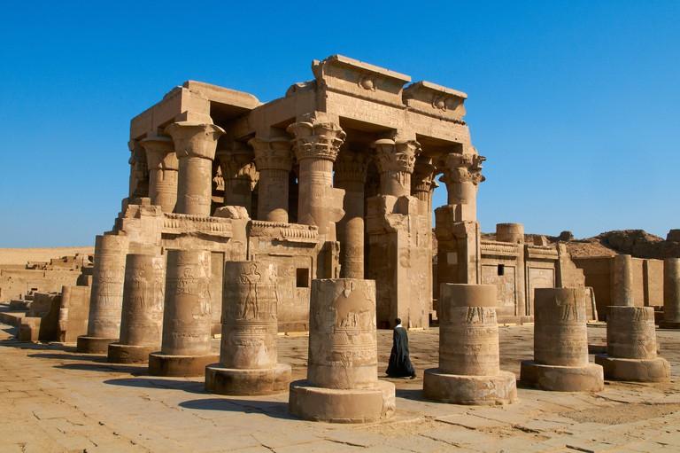 Temple of Sobek and Haroeris, Kom Ombo, Egypt, North Africa, Africa