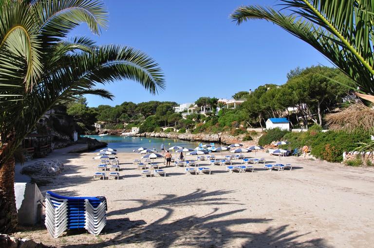 Platja de Cala'n Blanes, Cala'n Blanes, Menorca, Balearic Islands, Spain