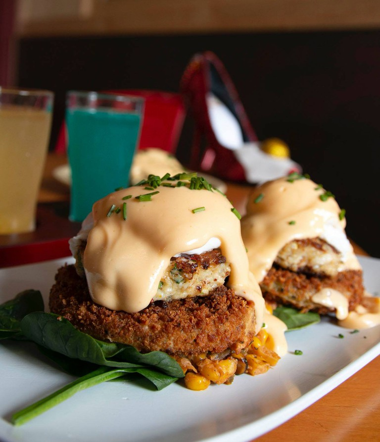 Ruby Slipper Cafe, Magazine Street, New Orleans, Blue Crab Benedict