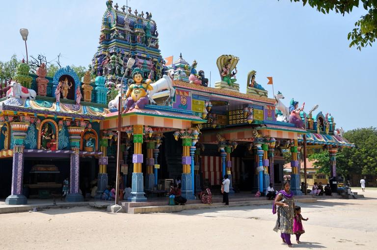 Nagapooshani Amman Kovil, Nainativu, Sri Lanka