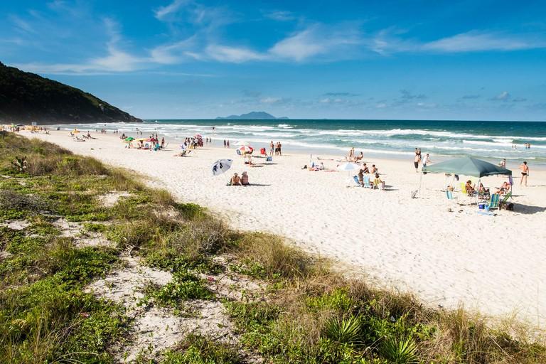 Praia dos Ingleses (Ingleses Beach).