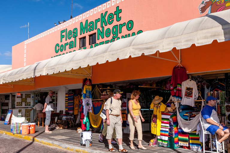 Flea Market, Cancun, Quintana Roo, Mexico