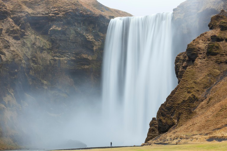 Skogafoss waterfall south west Iceland