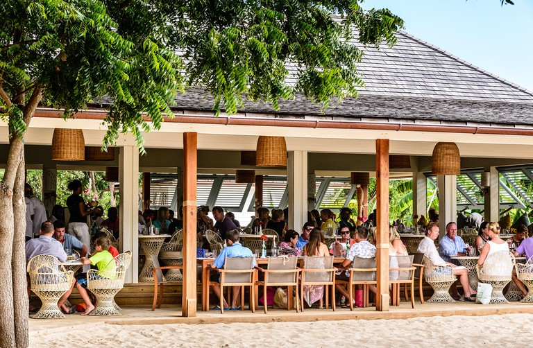 Catherines Cafe Plage Restaurant, Pigeon Point, English Harbour Town, Antigua
