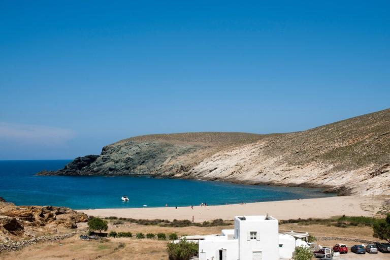 EWBCAA Griechenland, Kykladen, Mykonos, Fokos Beach