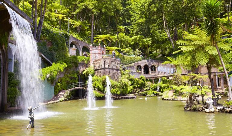 Monte Palace Tropical Garden (Japanese garden) - Monte, Madeira Island, Portugal