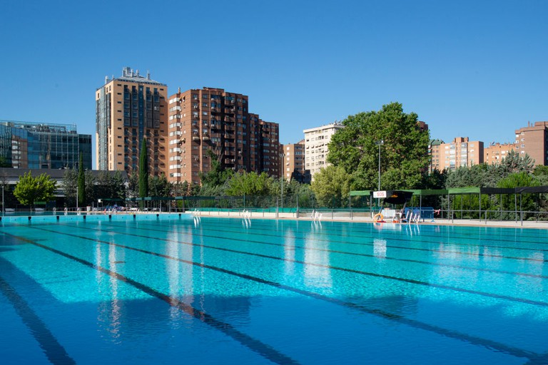 Municipal Swimming Pools Reopen In Madrid