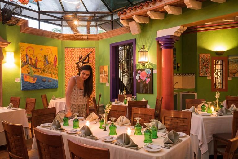 River Cafe, Puerto Vallarta, Mexico.