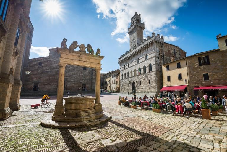 H67C13 Piazza Grande Square, Montepulciano, Siena Province, Tuscany, Italy, EU, Europe