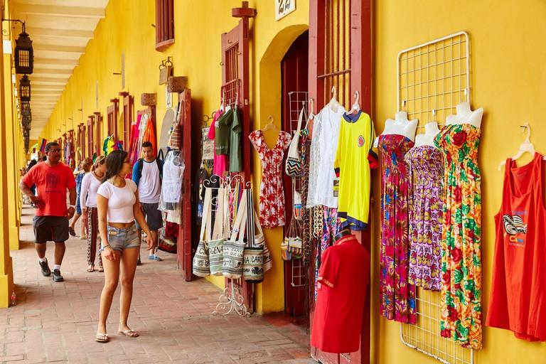 HMC7YM Handicrafts, Las Bovedas, Cartagena de Indias, Bolivar, Colombia, South America