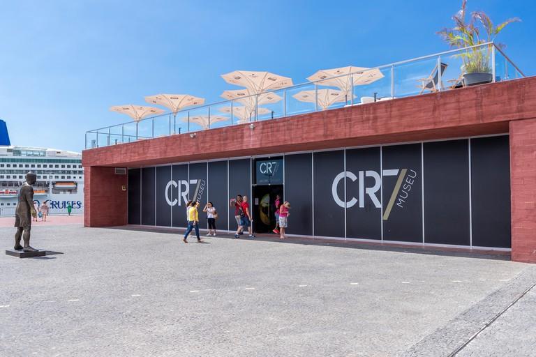 Museu CR7, Funchal, Madeira, Portugal.
