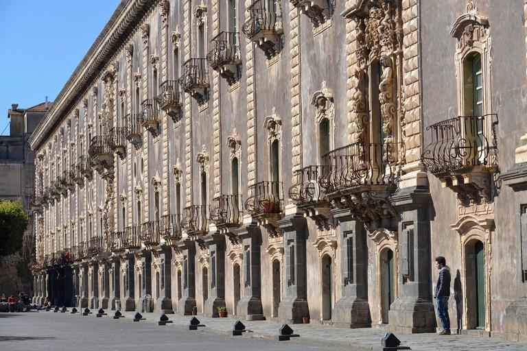 Monastero Tu San Benedetto, Catania, Sicily, Italy, Monastero di San Benedetto, Sizilien, Italien