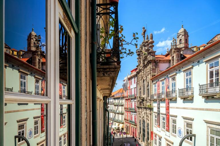 Rua das Flores (Flores Street), Porto, Portugal